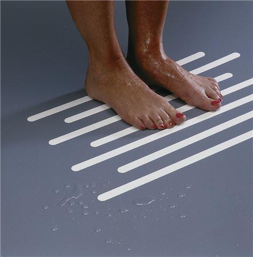 Soft Tread Anti Slip Coating : Bath safety strips redland healthcare