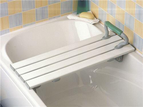Savanah slatted bath board for Savannah bathroom accessories