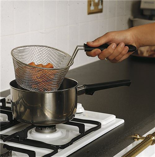 Safety Cooking Basket & Strainer