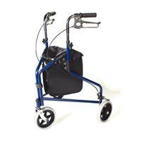 Days Tri-Wheel Rollator - Blue
