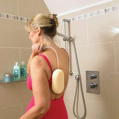 Long Handled Bathing Sponge 24