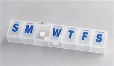 Large Flip-Lid Pill Dispenser
