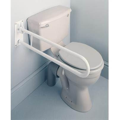 Fold Away Toilet Rail