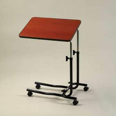 Teak Laminate Overbed Table