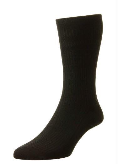 Softop Bamboo Rich Socks - Black