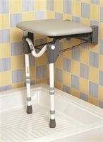 Tooting Folding Shower Seat - Padded