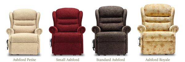 Sherborne Ashford Sizes