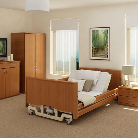 Bradshaw Bariatric Low Nursing Care Bed b