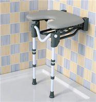 Tooting Folding Shower Seat - Horseshoe