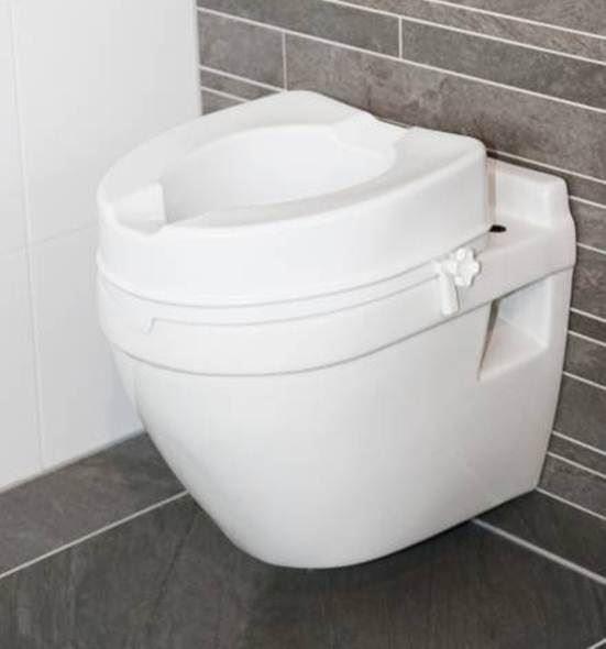 Atlantis Raised Toilet Seat - 10cm a