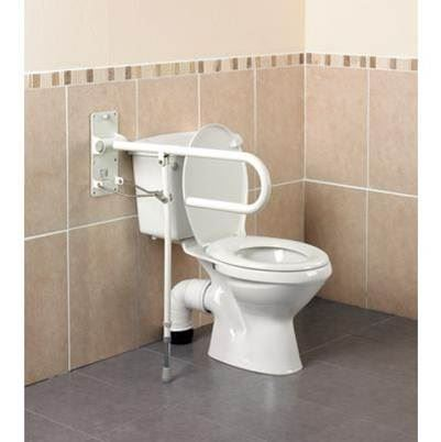 Devon Toilet Rail With Folding Leg