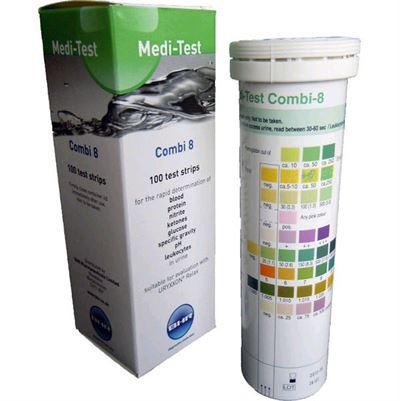 Medi-Test Combi 8 Urine Test Strips