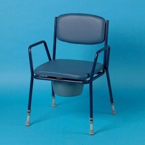 Height-Adjustable Comfort Commode