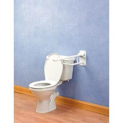 Devon Elite Folding Toilet Rail