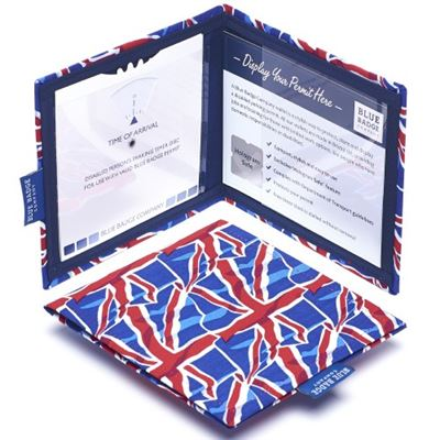 Union Jack Blue Badge & Timer Wallet
