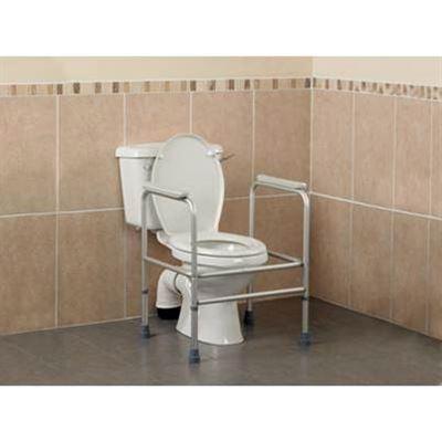 Adjustable Aluminium Toilet Surround