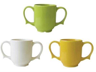 Dignity Two-Handled Mug