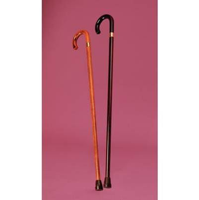 Classic Crook-Handle Walking Stick