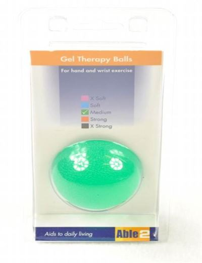 Therapeutic Gel Balls - Green Medium