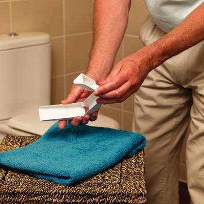 Folding Toilet Tissue Aid a