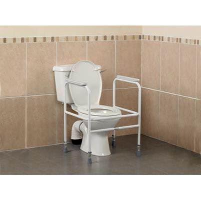 Adjustable Steel Toilet Surround