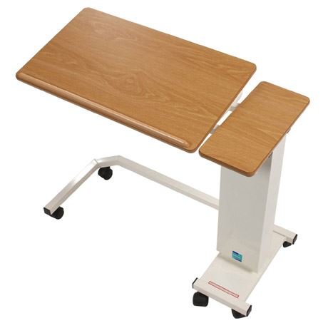 Easi-Riser Tilt-Top Overbed Table - Wheelchair Base