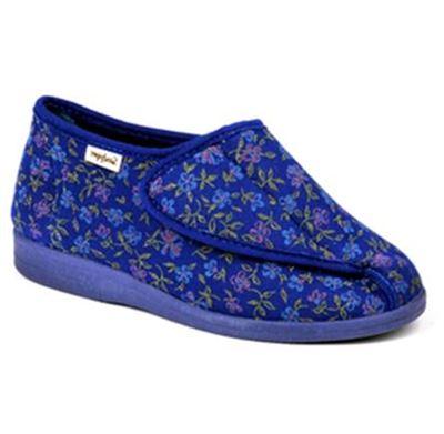 Sandpiper Beryl Blue Floral