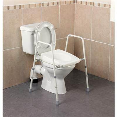 Stirling Width Adjustable Toilet Frame