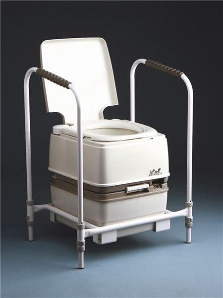 Porta Potti Flushing Commode