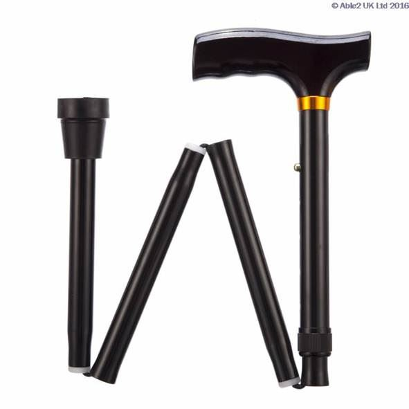 Folding Adjustable Walking Stick