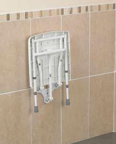 Savanah Wall Mounted Shower Seat a