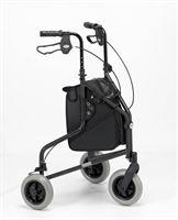 Days Lightweight Tri-Wheel Rollator - Graphite