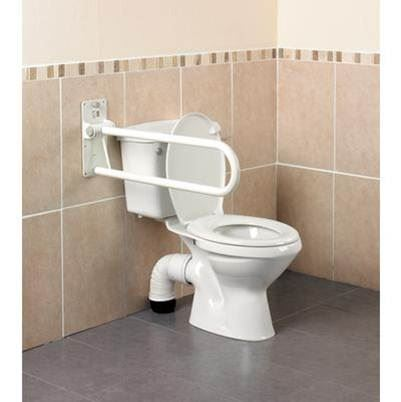 Devon MkII Folding Toilet Rail