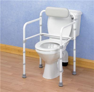 Uni-Frame Folding Toilet Rail